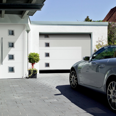 Idee e foto di garage in stile moderno per ispirarti for Idee aggiuntive di garage allegato