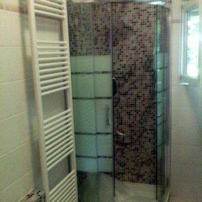 posa box doccia- posa mosaico