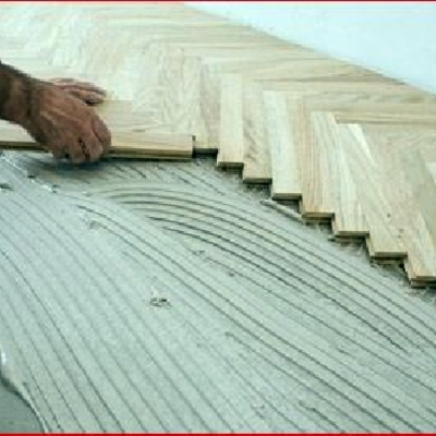 Posa pavimenti e parquet in legno