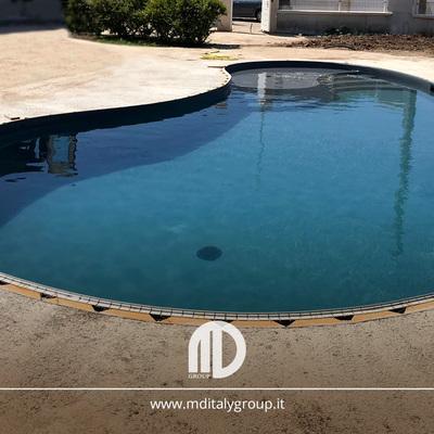 piscina forma libera