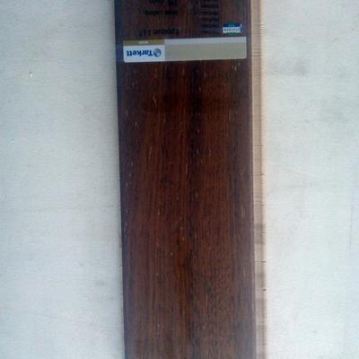 prefinito legno Merbau bisellato