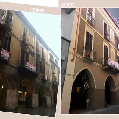 Riqualificazione palazzo nel centro storico di Chivasso