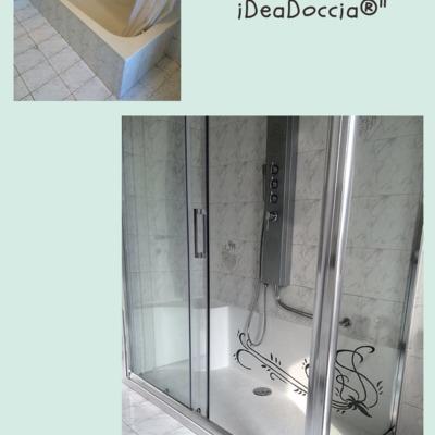 NUOVA LINEA FIORE Trasformazione da vasca in doccia iDeaDoccia®
