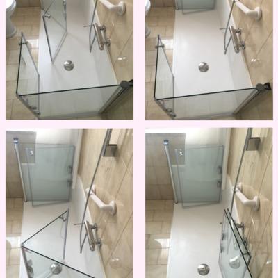 SOLUZIONE  DISABILI Trasformazione da vasca in doccia iDeaDoccia®