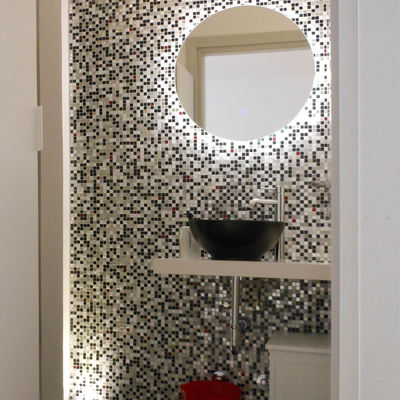 Bagno e mosaico
