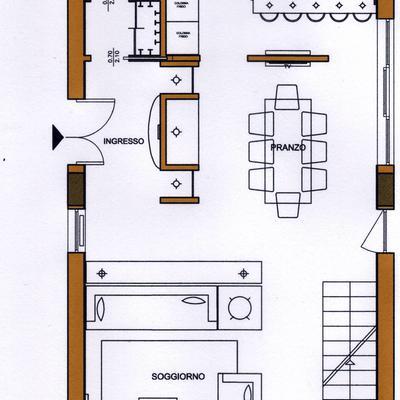 Progettazione e interior design di una villa a Roma