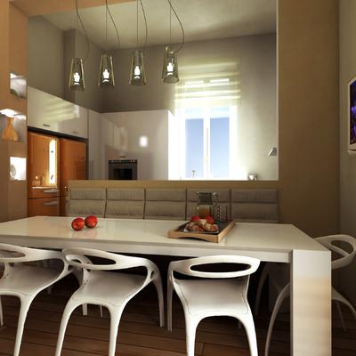 Progetto e Modellazione sala da pranzo