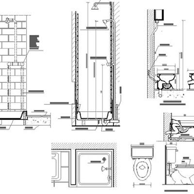 Progetto e posa idraulica bagno