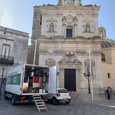 Intervento chiesa di Lecce