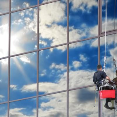 Pulizia vetri