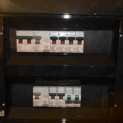 Quadro elettrico di villetta a 2 piani
