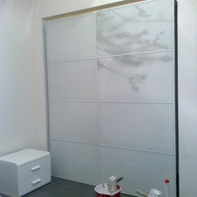 Realizzazione armadio a muro con porte scorrevoli 2