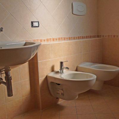 Realizzazione di bagno.