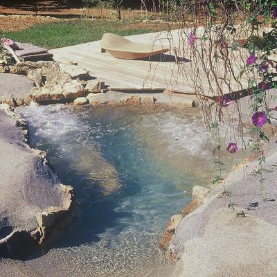 Realizzazione di piscina artificiale