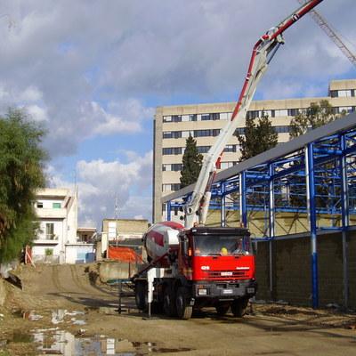 Realizzazione edificio industriale