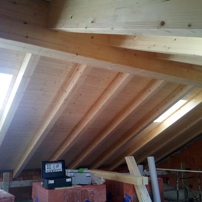 Realizzazione tetti in legno a vista