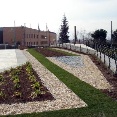 Recinzione per piazza dei Vestini a Chieti