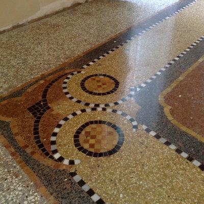 Recupero pavimento alla veneziana