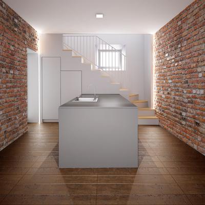 Progetto nuova cucina minimalista