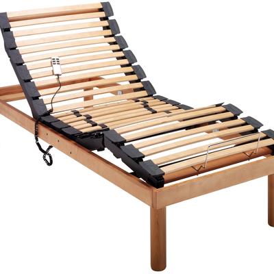 Rete da letto motorizzata elettrica in legno Tancredi