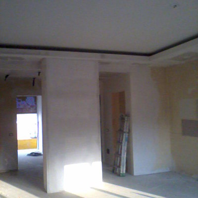 Preventivo parete cartongesso con porta verona online - Porta parete cartongesso ...