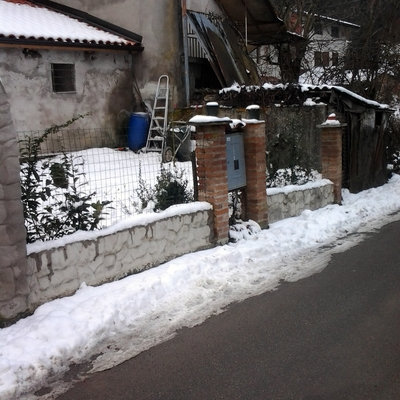 rifacimento recinzione