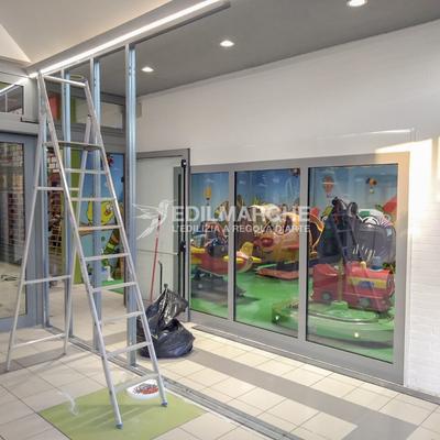 realizzazione nuovo negozio a Piediripa (MC)