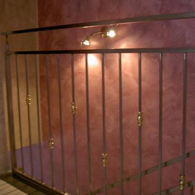 ringhiera scala in acciaio inox