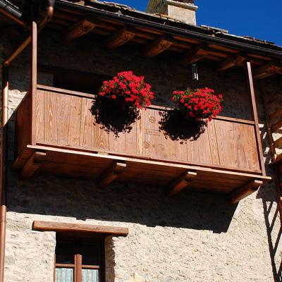 Particolare balcone