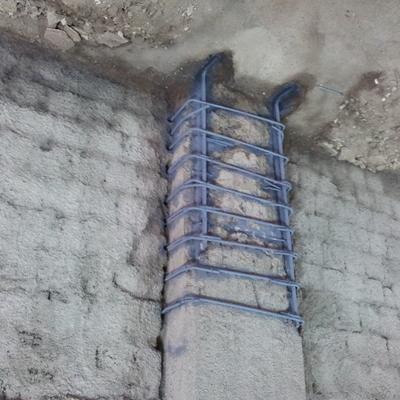 Ripristino pilastri in calcestruzzo