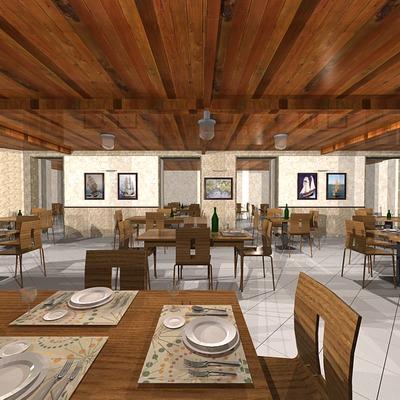 Presentazione ristorante 3D