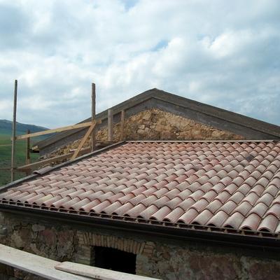 ristrutturazione antica casetta in campagra