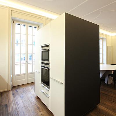 Ristrutturazione e ridistribuzione interna di un appartamento