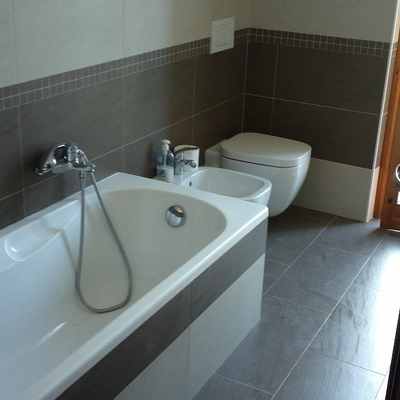 Ristrutturazione completa di un bagno in provincia di Verona