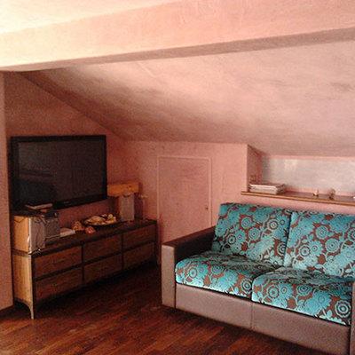 ristrutturazione di appartamento con intonaci e finiture a calce (tonachino)