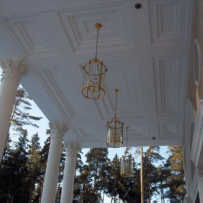 ristrutturazione di porticato stile 800 neo classico