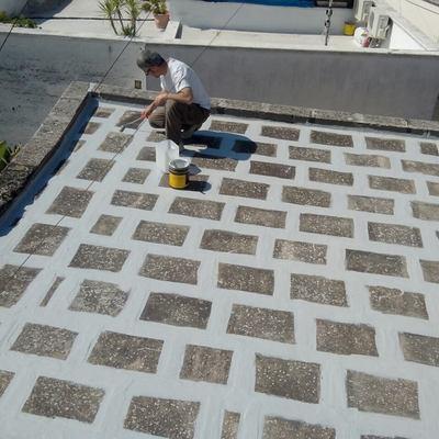ristrutturazione di terrazzo