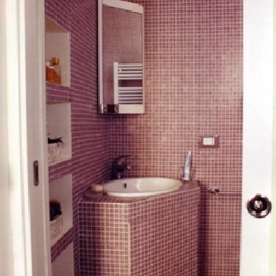 Interior design - ristrutturazione ed arredamento di un appartamento a Finale Ligure - Bagno