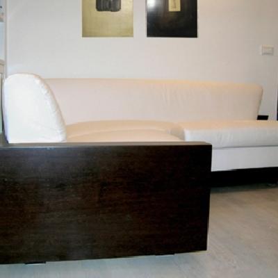 Interior design - ristrutturazione ed arredamento di un appartamento a Finale Ligure - Il divano