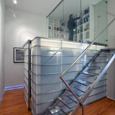 Interior design - ristrutturazione ed arredamento di un appartamento in una torre del 300 - Il guardaroba