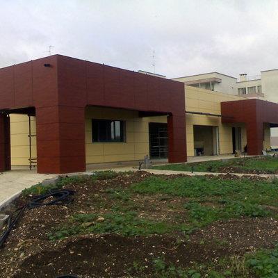 ristrutturazione esterna clinica - bitonto - ba