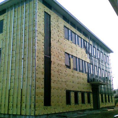 ristrutturazione facciata con isolamento prima