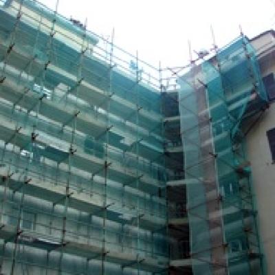 Ristrutturazione facciata edificio Certosa - Genova