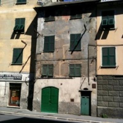 Ristrutturazione facciata edificio Via Teglia - Genova