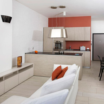 Ristrutturazione sala/cucina