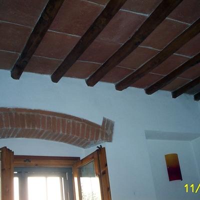 Ristrutturazione travi soffitto