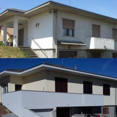 Ristrutturazione villa unifamiliare