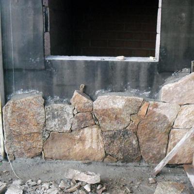 rivestimento in pietra facciata