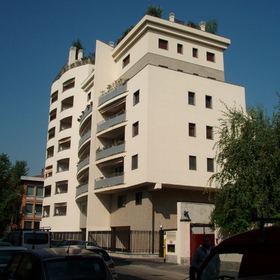 Rivestimento silossanica facciata a Milano.