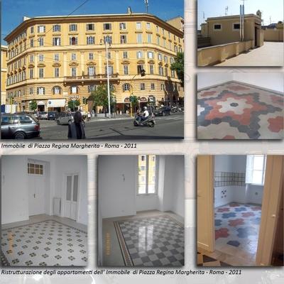 Roma - Viale Regina Margherita
